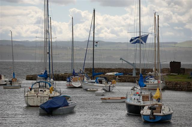 Brucehaven harbour