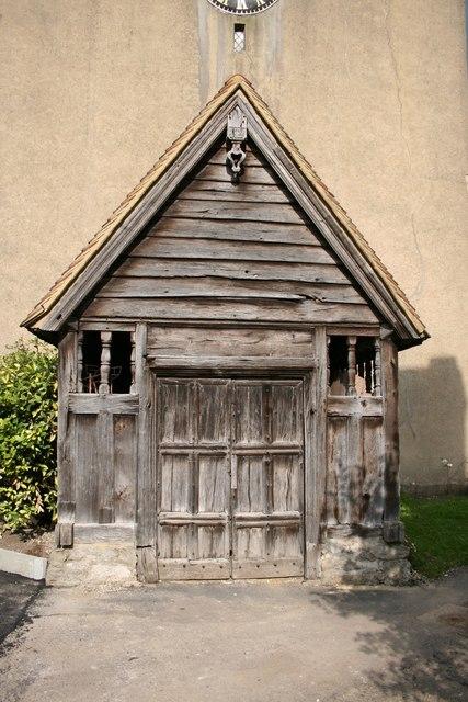 St.Bartholomew's porch