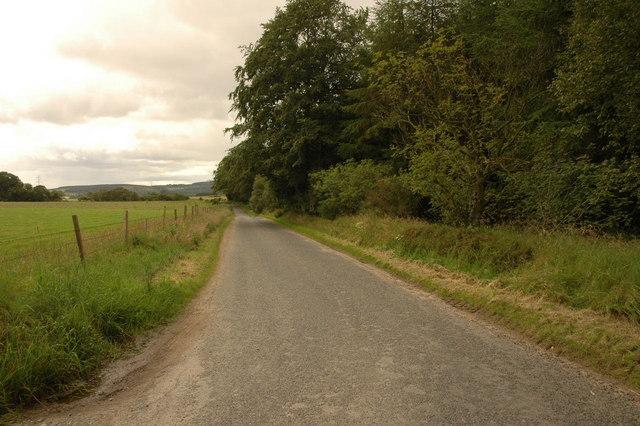 From Glenburnie Farm junction
