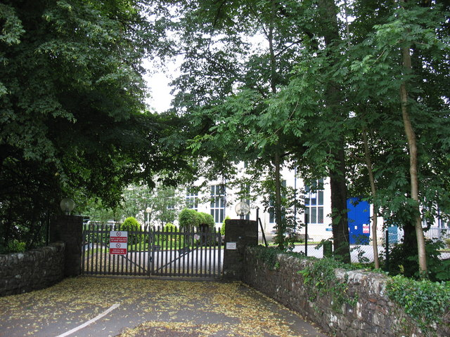 The main entrance to Maentwrog HEP station