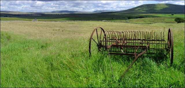 Old Machinery and the Ribblehead Viaduct