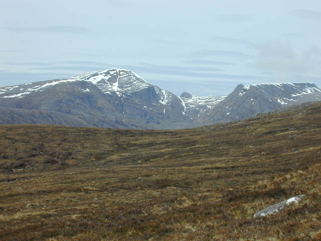 Western slopes of Am Faochagach