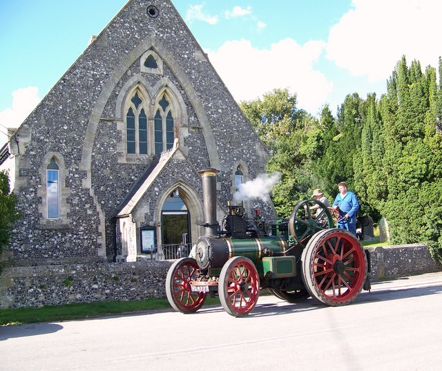 Steam Engine and Chapel