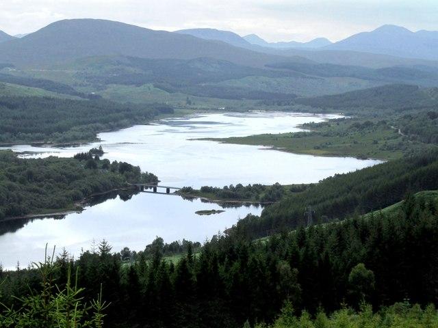 Loch Garry near Invergarry