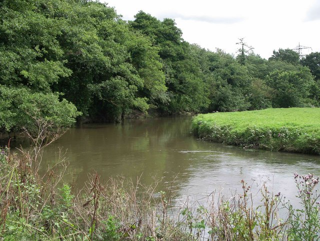 River Trent near Meaford
