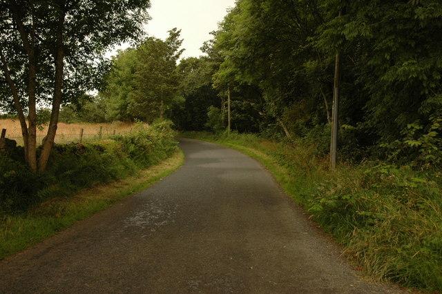 Road near Disblairs