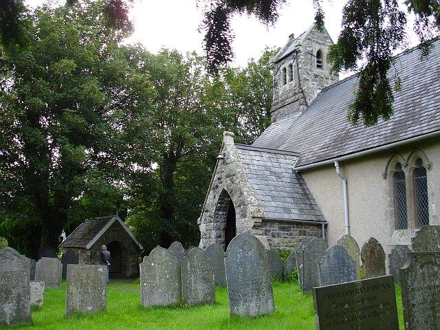 St Cadfan's church, Llangadfan