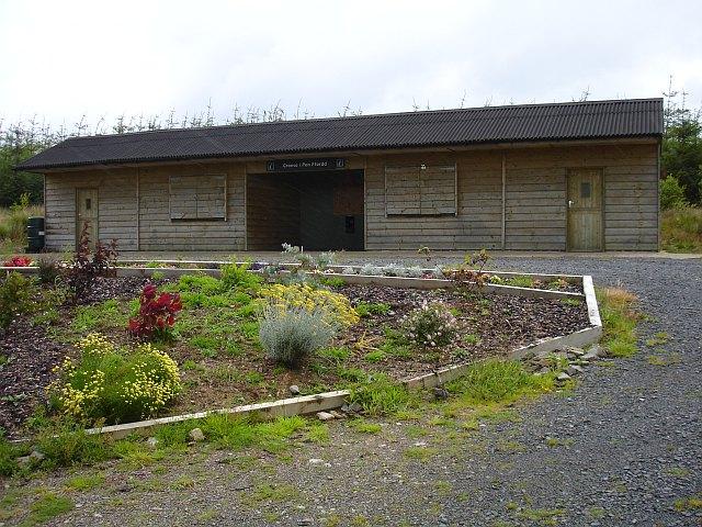 Visitor centre, Pen y Ffordd