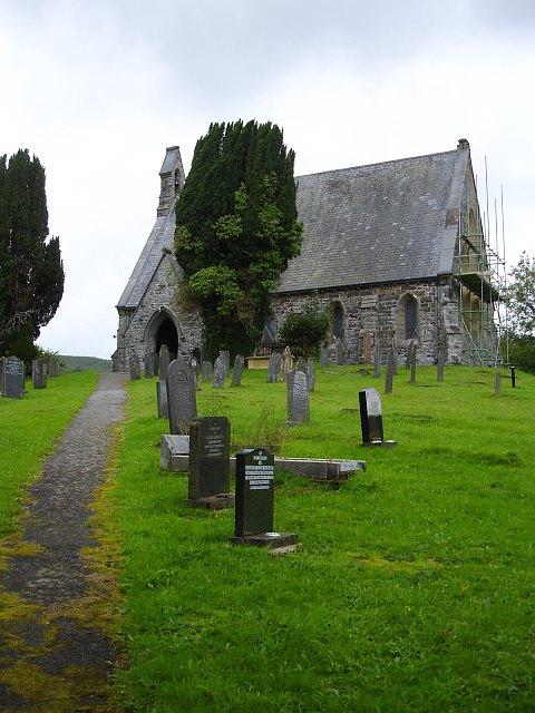 Eglwys y Santes Fair - St Mary's church, Llwydiarth