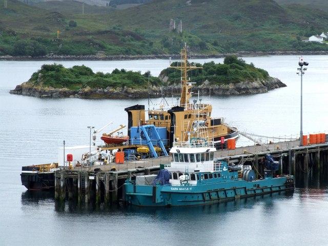 Harbour at Kyle of Lochalsh
