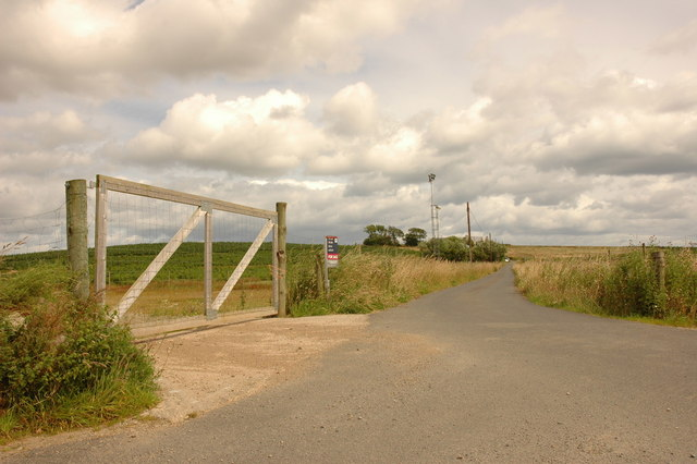 Private road to Fornety
