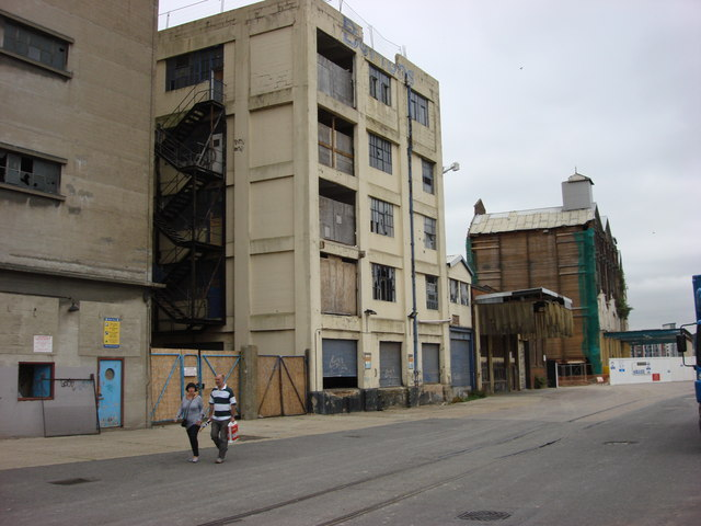 Derelict Warehouses on Foundry Lane