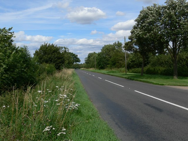 Broughton Road towards Cosby