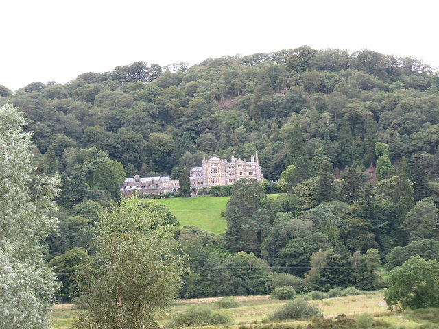 Plas Tan y Bwlch from the A496