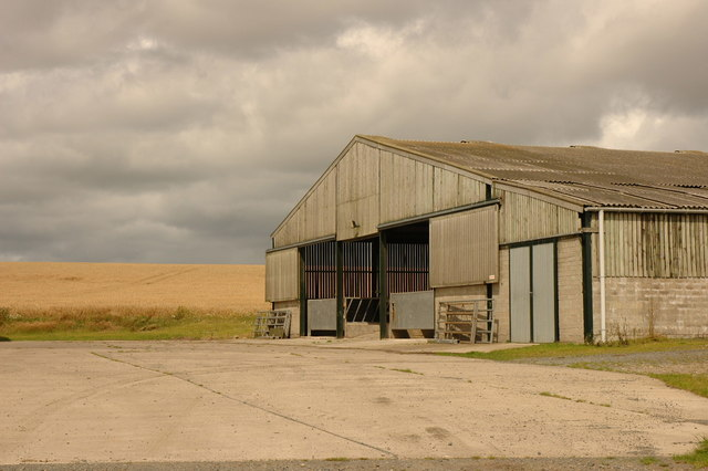 Farm buildings at Mains of Tarty