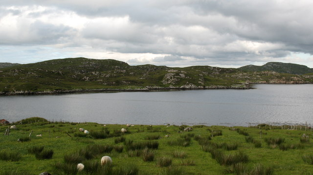 Looking across to Flodaigh