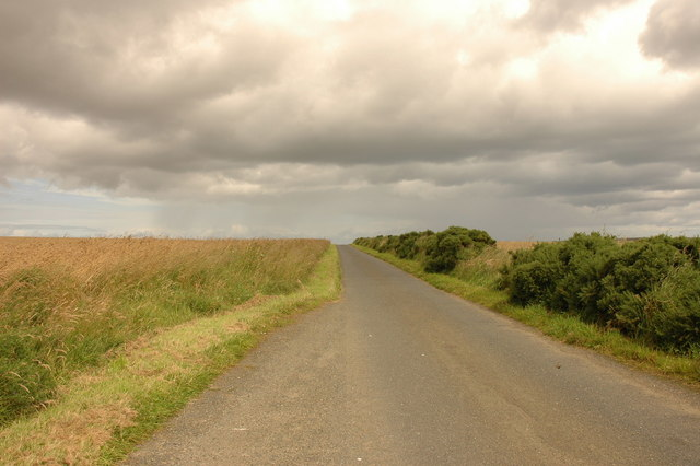 Country road near Tipperty