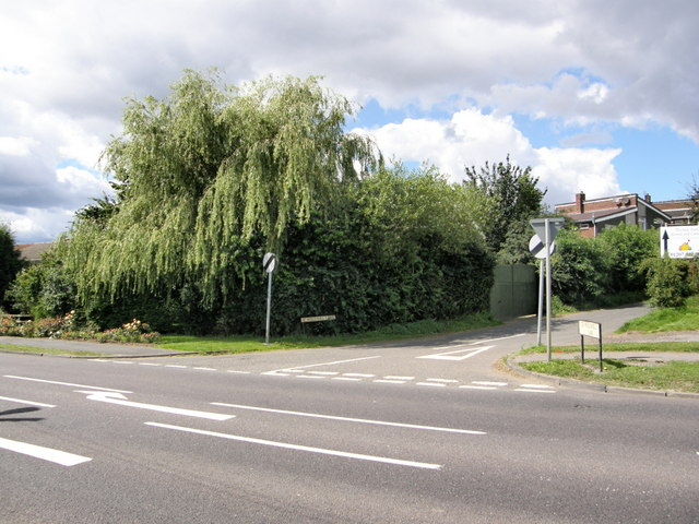 Entrance to Hollinhill Lane