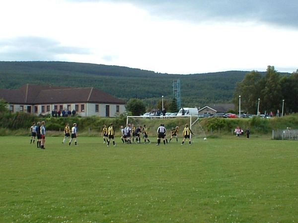 Aviemore public football pitch