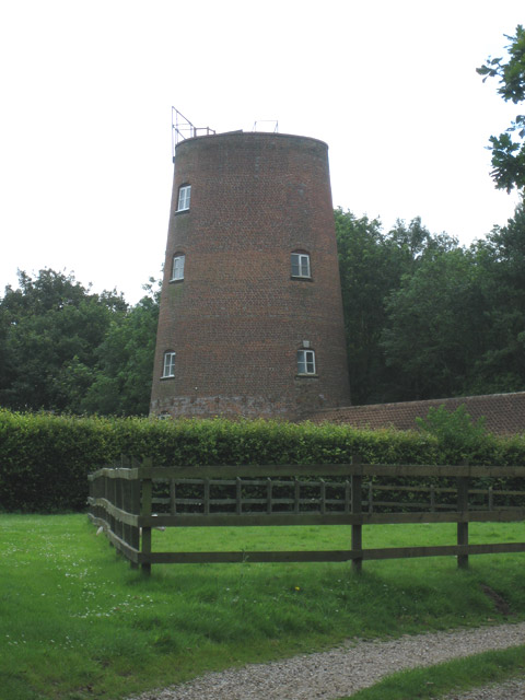 Once a windmill, now a residence