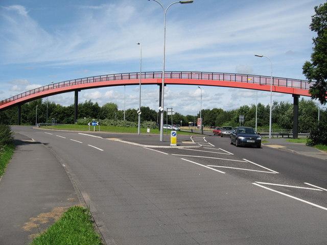 Footbridge in Kingswood