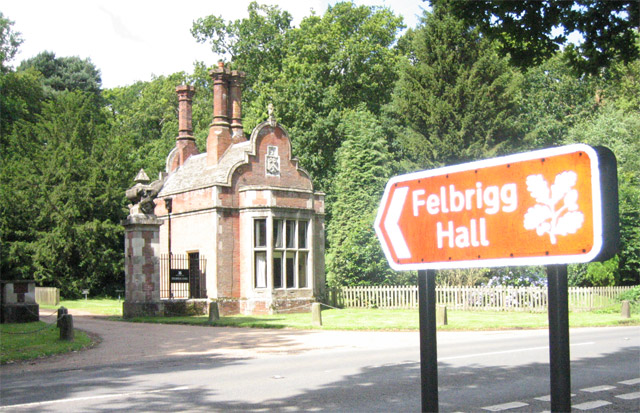 Glowing recommendation to enter Felbrigg Hall
