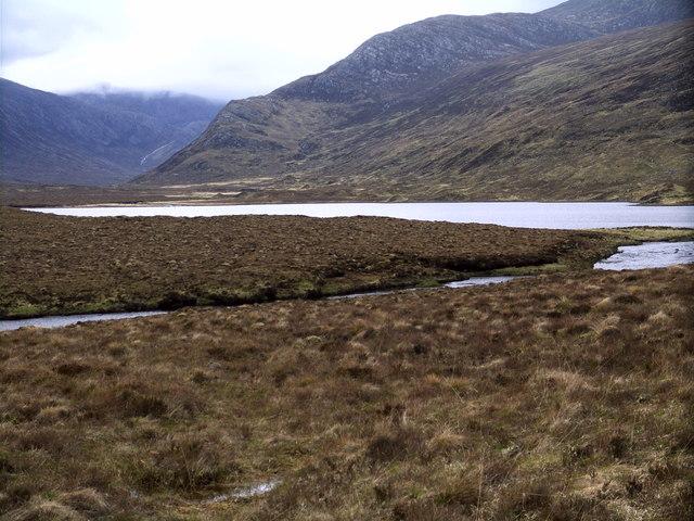 Meallan a' Bhùtha at Loch a' Gharbhrain