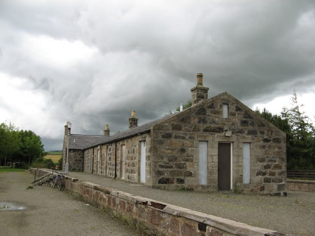 The Formartine and Buchan Way - Maud Station