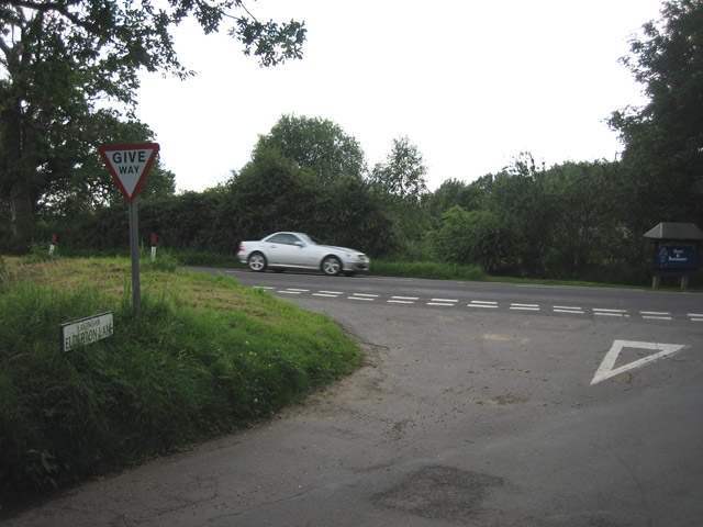 (Antingham) Elderton Lane meets the A149