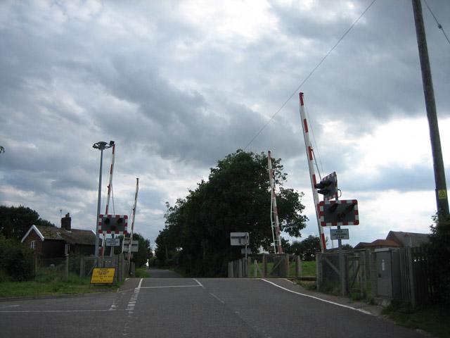 Antingham level crossing
