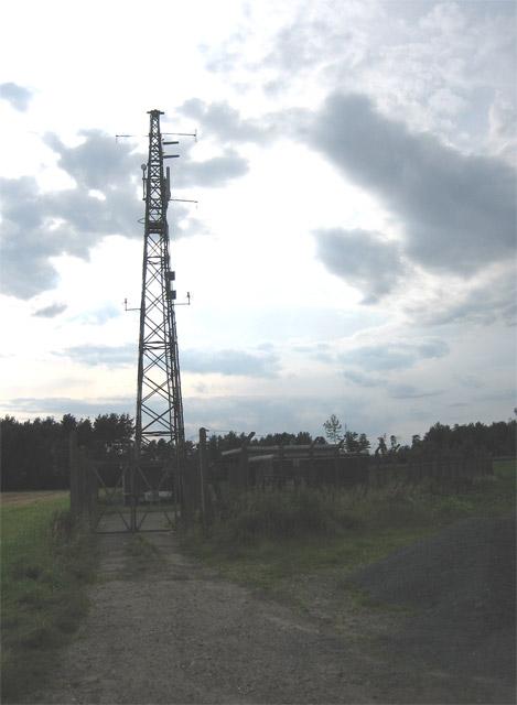 Transmission mast near A149