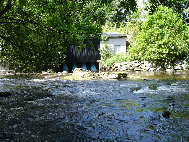 Hydroelectricity at Dolanog