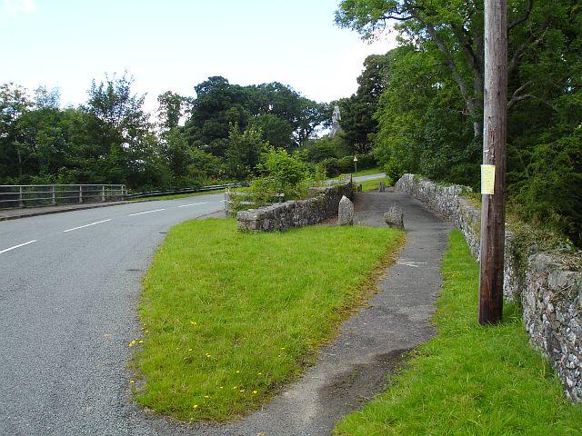 Old bridge at Dolanog