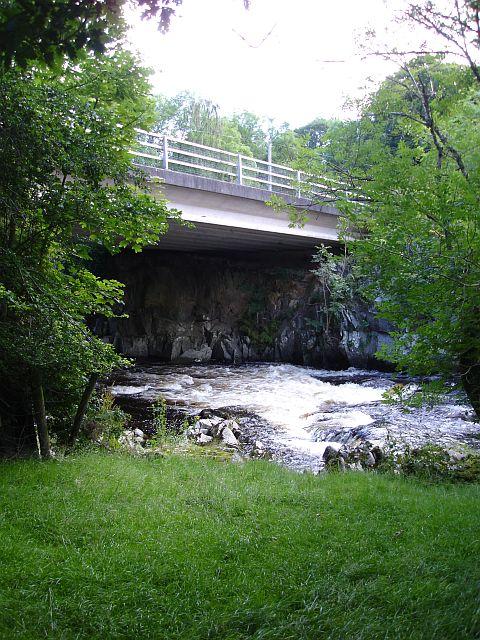 New bridge at Dolanog
