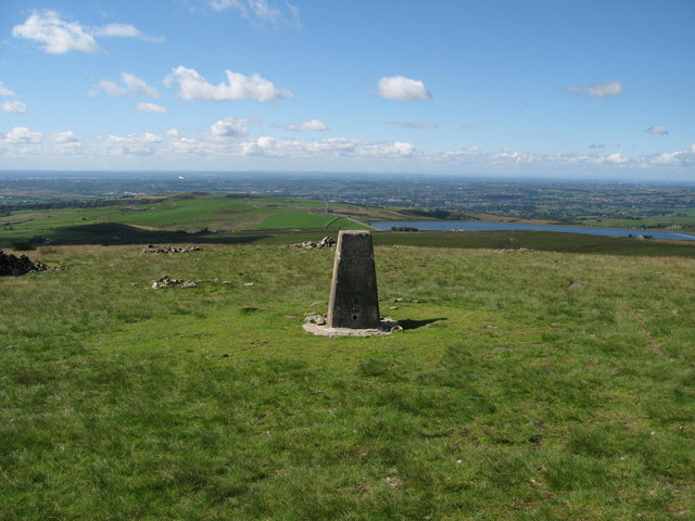 Knowl Moor Trig Pillar