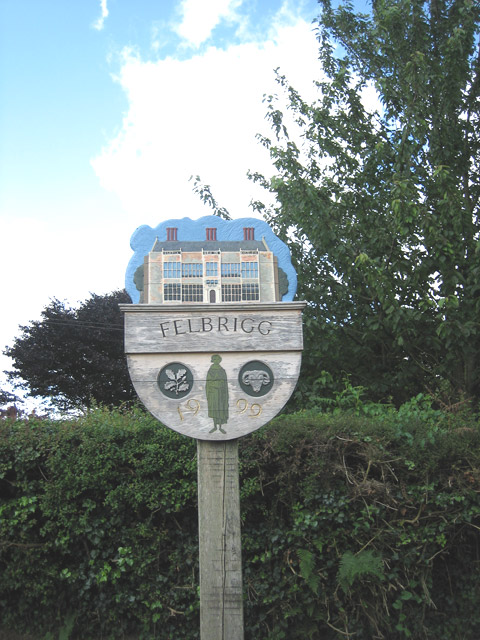 Felbrigg village sign