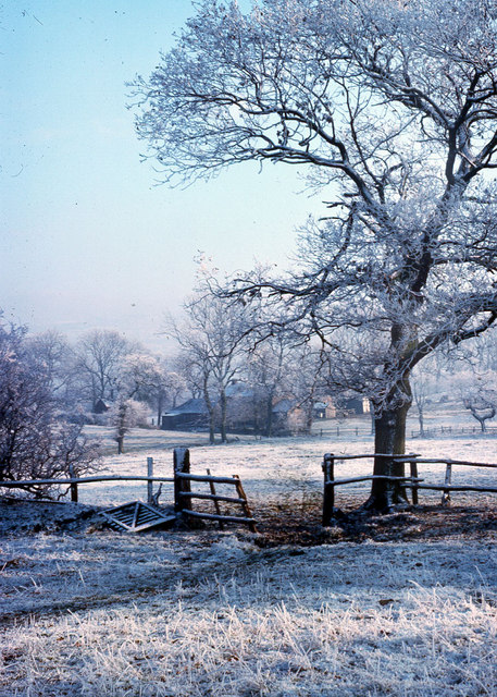 Hannel Farm taken Winter 1976