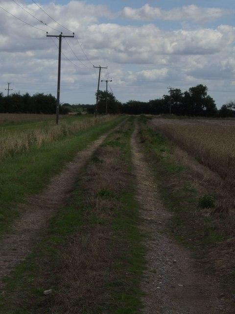 Track from Poplars Farm