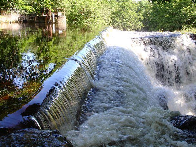 Weir at Dolanog
