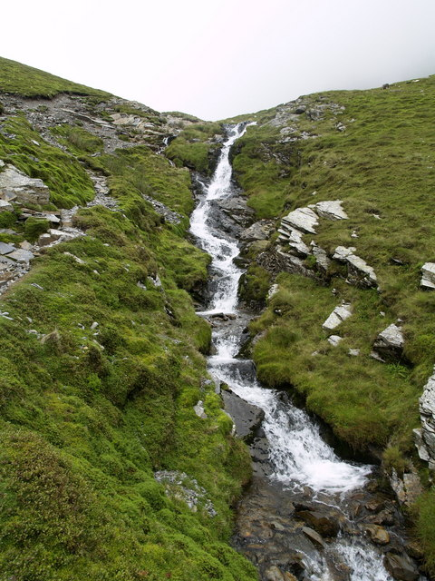 Upper Gasgale Gill Waterfall