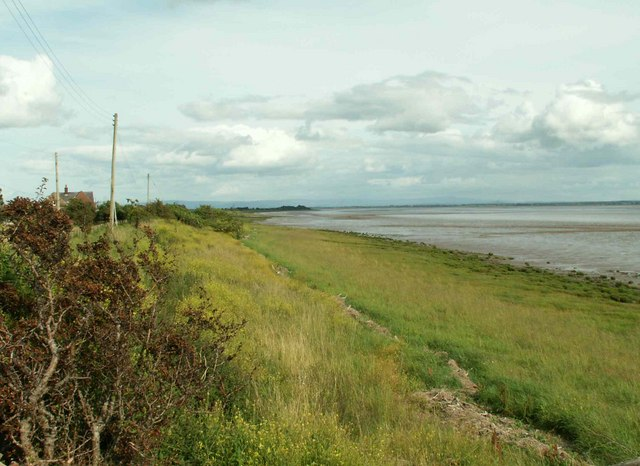 Dornockbrow, estuary shore