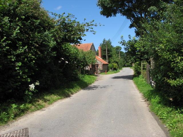 Back Lane, Roughton