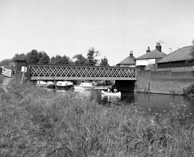Broadford Bridge, River Wey, Surrey