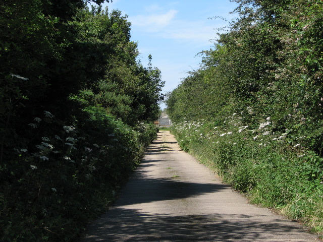 Track to Heath Farm