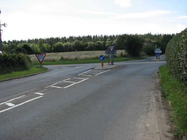 Approaching A149 from Thorpe Road