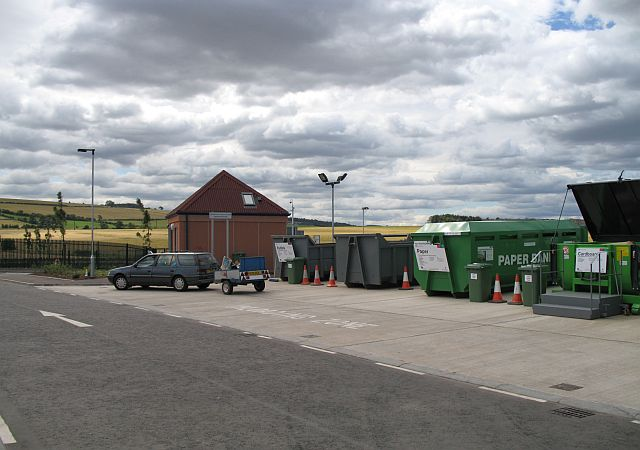 Recycling centre