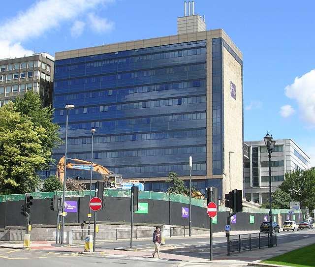 Leeds Metropolitan University - B Block - Calverley Street