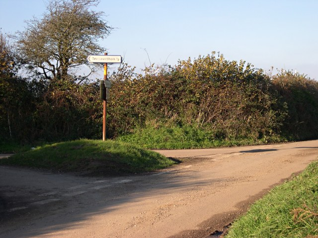 A Country Road Junction