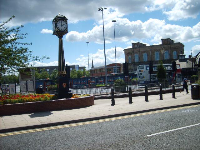Wolverhampton Bus Station