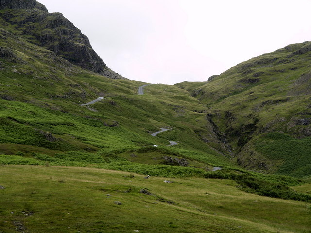 Hardknott Pass West